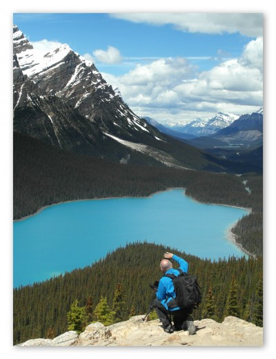 Making of Peyto Lake